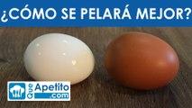 Formas de cocer un huevo - ¿Cuál se pelará mejor? | QueApetito