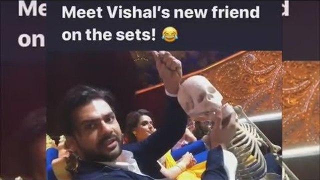 Meet Vishal Aditya Singh's new friend on Nach Baliye