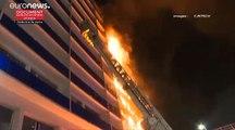 Incendie mortel dans un bâtiment annexe à l'hôpital Henri-Mondor de Créteil