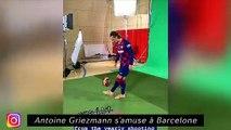 Griezman s'amuse à Barcelone - C'est la reprise pour Youcef Atal à Nice