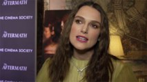 Keira Knightley's kid left her exhausted on set of official secrets