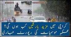 Monsoon's third spell to hit Karachi soon; MET