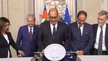 Zingaretti - Una diversa maggioranza per dare vita a un governo di discontinuità (22.08.19)