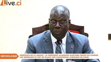 Obsèques de Dj Arafat : Le président Alassane Ouattara prend en charge les obsèques et met en place une commission juridique de dons