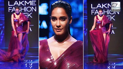 Pregnant Lisa Haydon Stumbles On Ramp At Lakme Fashion Week 2019 Day 2