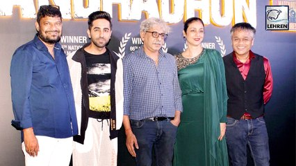 Andhadhun Team Celebrate The Film's Win At The 66th National Film Awards