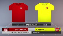 Match Preview: Liverpool vs Arsenal on 24/08/2019