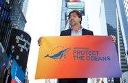 Javier Bardem appelle à la signature d'un traité international pour protéger les océans