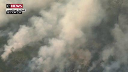 L'Amazonie ravagée par des incendies