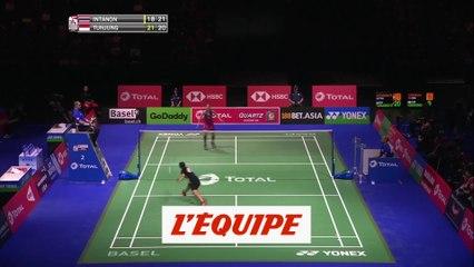 Le résumé en vidéo du match Intanon - Tunjung - Badminton - Mondiaux