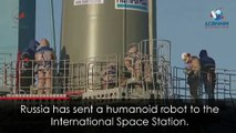 Russia sends humanoid to the ISS