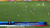 Flamengo gana al Internacional de Brasil en cuartos de final de la Copa Libertadores