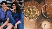 Twinkle Khanna shares pictures of a meal cooked by her son Aarav | FilmiBeat