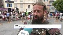 D!CI TV : aux fêtes médiévales d'Embrun, l'Ost du Temps Jadis éblouit avec ses combats à l'épée