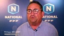 """US Avranches Philippe Brillant """"On peut tous s'imaginer en Ligue 2"""""""