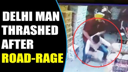 Delhi Man Brutally thrashed in road-rage incident, video viral | Oneindia News
