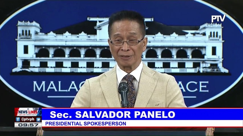Palace maintains clearance needed for foreign vessels' passage