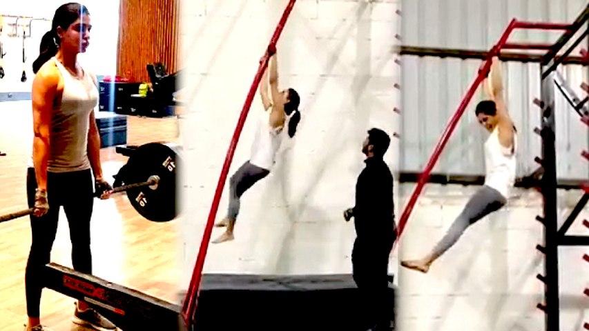 Samantha Viral Video in Gym