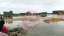 La cité des Akys inondée : Un enfant aurait été emporté par les eaux