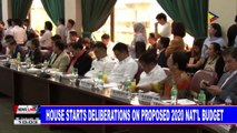 House starts deliberations on proposed 2020 nat'l budget