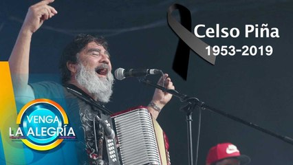 Recordamos la carrera del músico mexicano Celso Piña.   Venga La Alegría