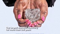 diamond in more than a century discovered in Botswana======))