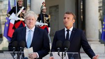 "Brexit, Macron sfida Johnson: ""Proponga un'alternativa al backstop"""