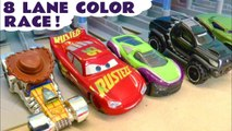 Disney Pixar Cars 3 Lightning McQueen vs Hot Wheels Toy Story 4 and Marvel Avengers 4 Superheroes in this Family Friendly Full Episode English