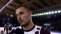 La réaction de Nicolas Boschi après le match Istres-Nice