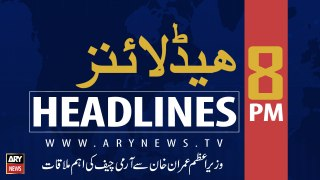 ARY News Headlines | Karachi receives light showers, drizzling on Thursday morning | 8 PM | 22 August 2019