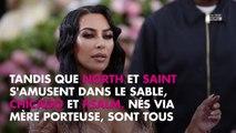 Kim Kardashian maman : ses quatre enfants réunis au complet sur Instagram