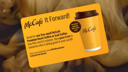 Every American Can Get a Free McCafe Coffee—As Long As Nobody's a Jerk About It