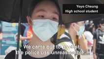 Hong Kong high schoolers pledge support for planned mass class boycott