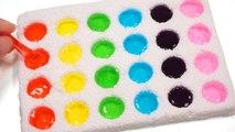 DIY How To Make Colors Mini Dot Clay Slime