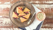 Tomato Tea Sandwiches with Summer Sauce