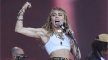 Miley Cyrus Leaves Italy With New Snake Tattoo