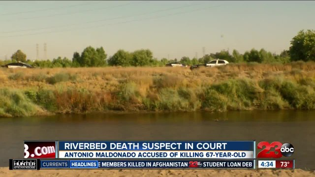 Suspect in Riverview Park death due in court