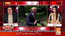 Dr Shahid Masood Response On Donald Trump's Tweet