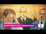 Rosario Robles sí rentó 2 departamentos en Reforma y Polanco | Noticias con Yuriria Sierra