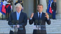 Macron: There is no time to negotiate new Brexit deal