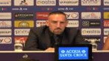 """Fiorentina - Ribéry : """"J'espère pouvoir jouer jusqu'à 40 ans"""""""