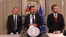"""Governo, la riapertura di Salvini: """"Di Maio ha lavorato bene"""""""
