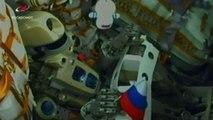 Il robonauta russo Fiodor lanciato con una Soyuz verso l'Iss