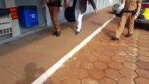 Homem é detido acusado de furto no Bairro Alto Alegre
