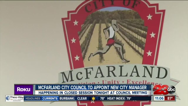 McFarland City Council set to appoint new city manager