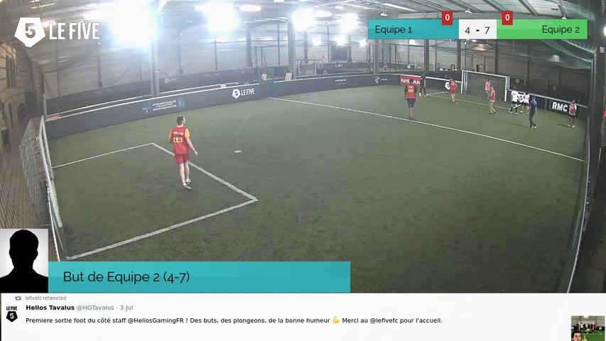 But de Equipe 2 (4-7)