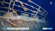Titanic : nouvelles images d'une épave en danger