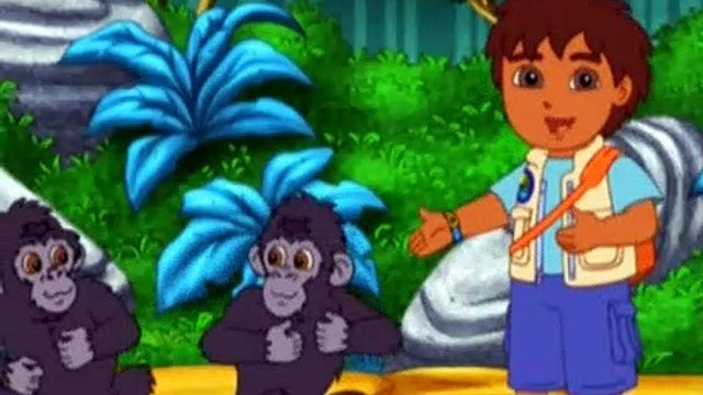 Go Diego Go Season 3 Episode 2 Gorilla Fun