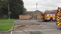 Fire at Hetton sports centre