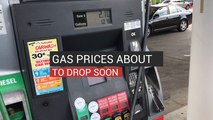 Gas Prices Are Set To Drop Soon